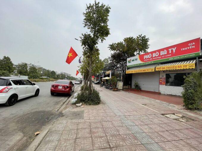 Bán đất mặt tiền rộng 7.5m mặt đường Hồng Tiến, dt 286m2, giá bán 230trm2 (1)