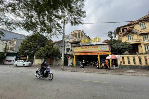 Bán nhà mặt phố Ái Mộ, phường Bồ Đề, quận Long Biên, dt 160m2. Giá 170trm2! (3)