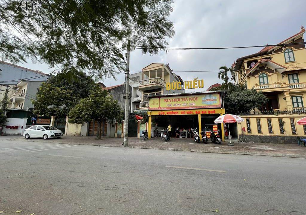 Bán nhà mặt phố Ái Mộ, phường Bồ Đề, quận Long Biên, dt 160m2. Giá 170trm2! (5)
