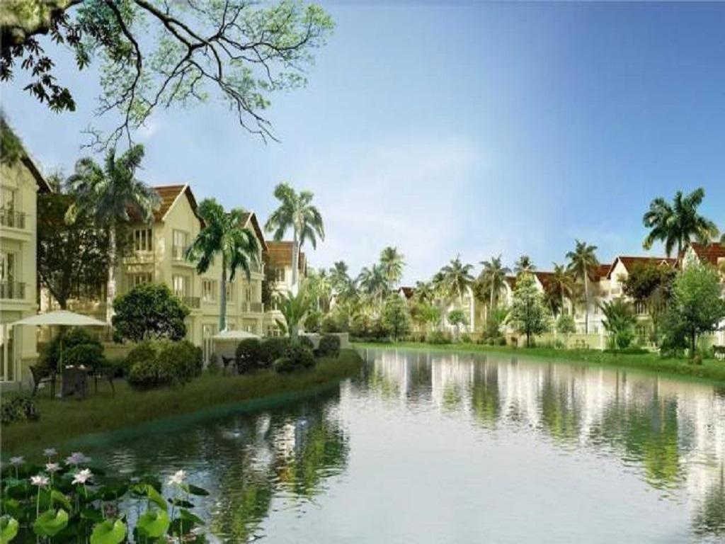 Phân khu & Diện tích các biệt thự Hoa Lan