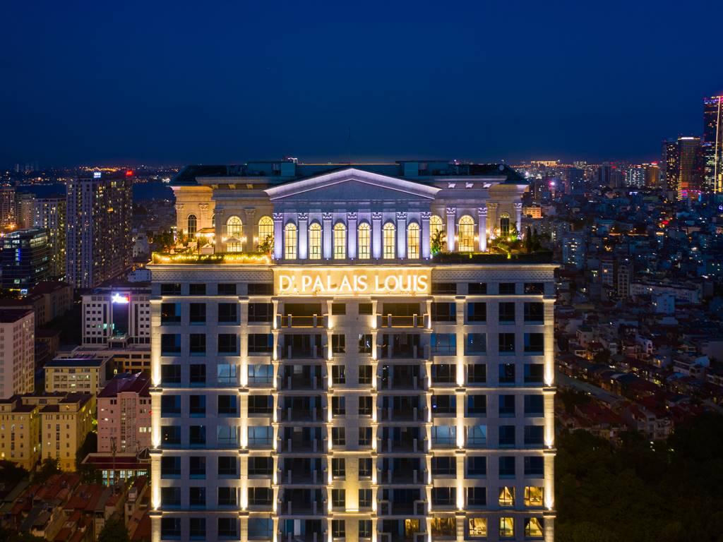 Ảnh thực tế D'. Palais Louis Nguyễn Văn Huyên ban đêm (10)