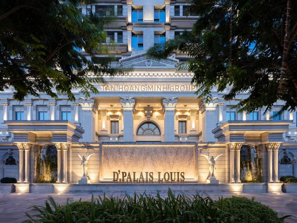 Ảnh thực tế D'. Palais Louis Nguyễn Văn Huyên ban đêm (2)