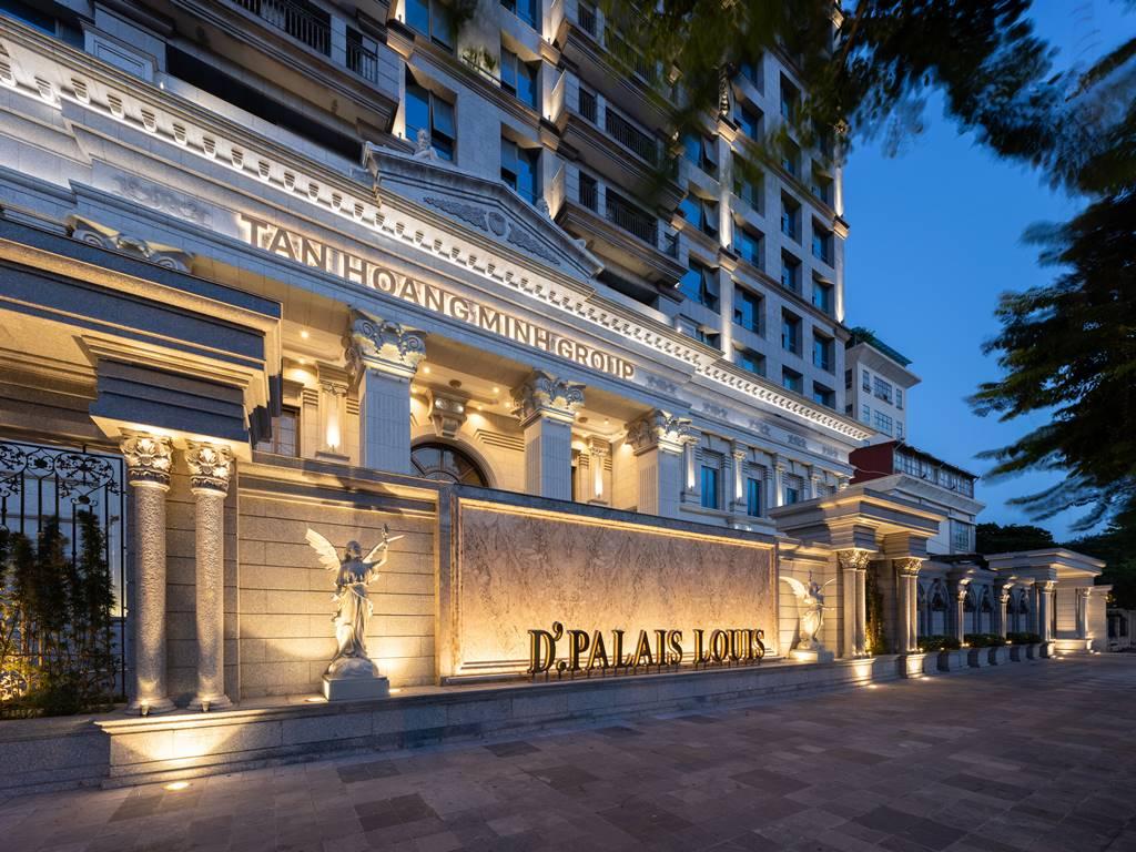 Ảnh thực tế D'. Palais Louis Nguyễn Văn Huyên ban đêm (3)