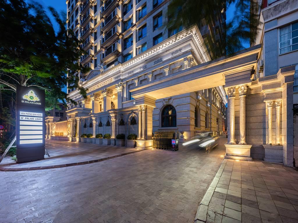 Ảnh thực tế D'. Palais Louis Nguyễn Văn Huyên ban đêm (5)