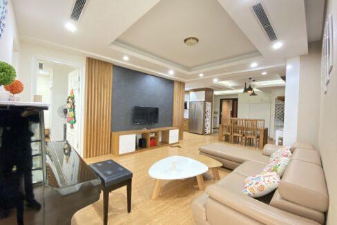 Cho thuê căn hộ 123m2 tòa nhà E1, Ciputra Hà Nội (2)