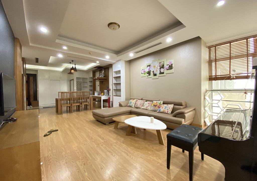 Cho thuê căn hộ 123m2 tòa nhà E1, Ciputra Hà Nội (3)