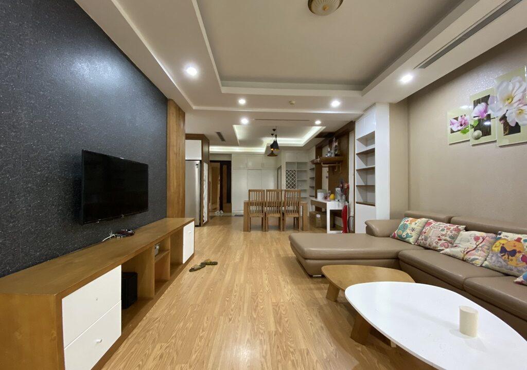 Cho thuê căn hộ 123m2 tòa nhà E1, Ciputra Hà Nội (4)