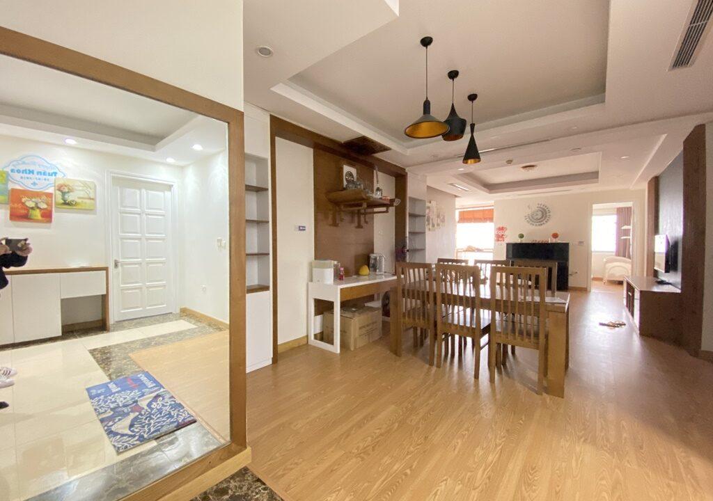 Cho thuê căn hộ 123m2 tòa nhà E1, Ciputra Hà Nội (5)