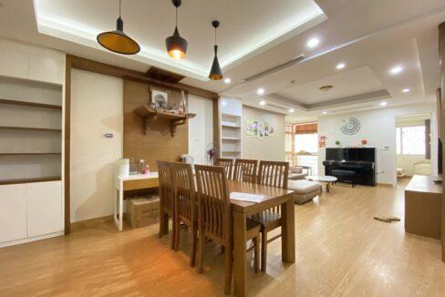 Cho thuê căn hộ 123m2 tòa nhà E1, Ciputra Hà Nội (6)