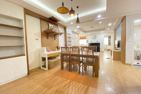 Cho thuê căn hộ 123m2 tòa nhà E1, Ciputra Hà Nội (7)