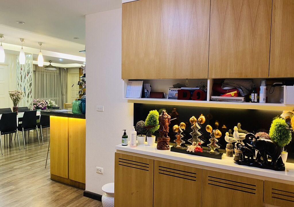Chung cư E4 Ciputra bán, 153m2, 4 phòng ngủ, nội thất đẹp (6)