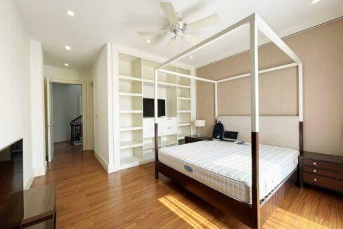 Cho thuê biệt thự đơn lập không đồ tại KĐT Vinhomes Riverside (9)