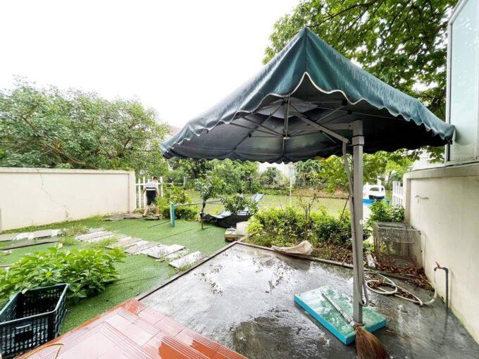 Cho thuê biệt thự không đồ Vinhomes Riverside - 225m2 - view sông (1)